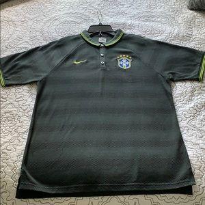 Nike Brazil Soccer Polo